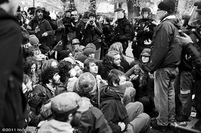 Black Bloc: Concerning the Violent Peace-Police – A Letter to Chris Hedges