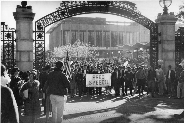 The History of the Berkeley Free Speech Movement
