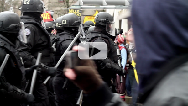 Video: Occupy Portland Shuts Down ALEC Corporations for #F29