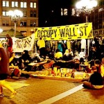Home Sweet Home: Occupy Wall Street has regrouped in Union Square Park, with no plans to leave. Photo by Jed Brandt.