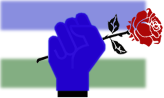 Livestream and the Raised, Blue-Gloved Fist