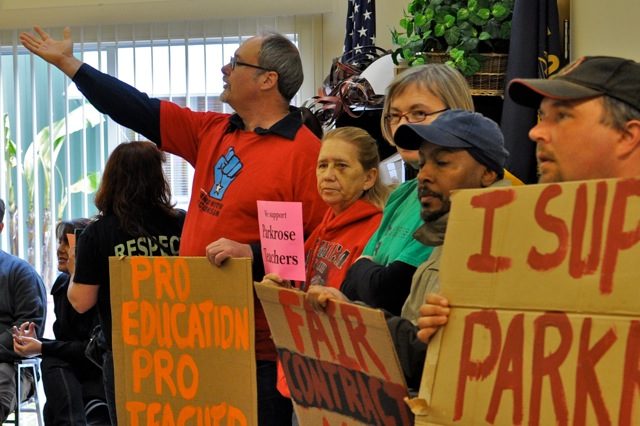 """Shame!"" on Parkrose School Board"