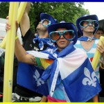 Proud, queer, Quebecois & on strike at CLASSE demonstration.  Photo by scottmontreal via Flickr.