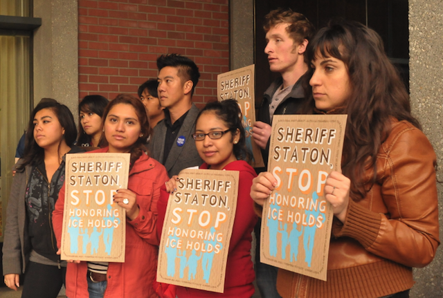 """We Want Safe Communities!"": Community Tells Sheriff Not to Work with ICE"