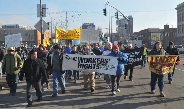 Houseless, Immigrant &amp; Worker&#8217;s Rights Rally Showcases MLK Legacy