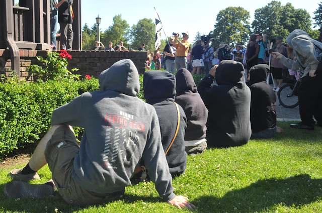 Portlanders Gather in Support of Justice for Trayvon Martin