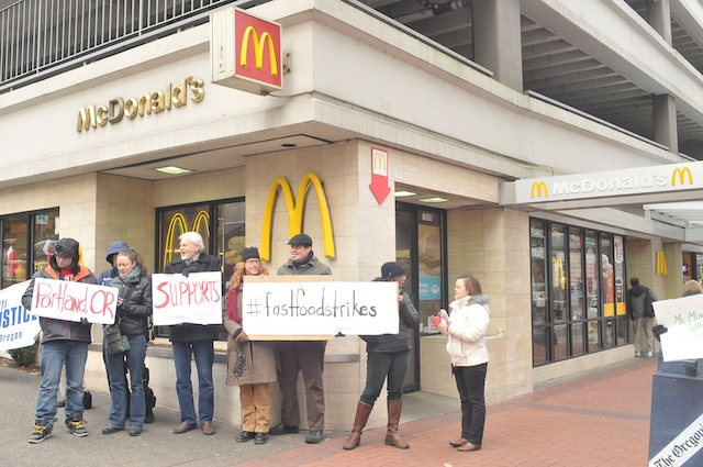 Hungry for Fair Pay, Fast Food Workers Push Back on Starvation Wage