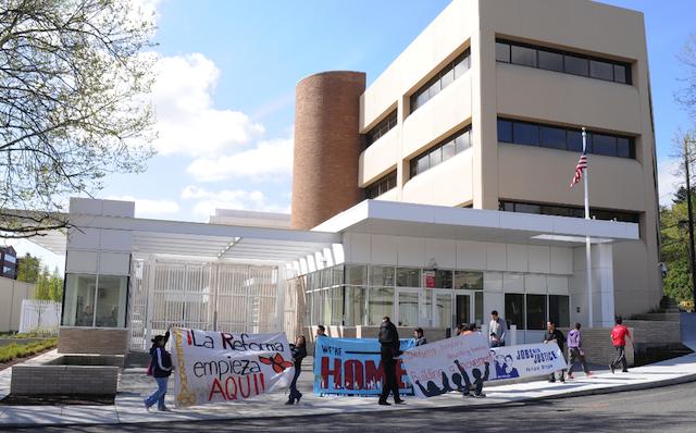 Persistent Protester Pressure Provokes ICE Prisoner Release