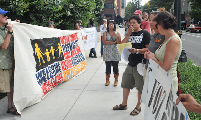 Rally Underscored Abysmal Treatment of Refugees, Need for New Immigrant Rights Policy