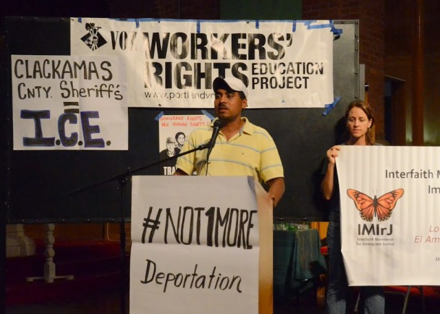Community Church Providing Sanctuary for Immigrant Rights Activist Francisco Aguirre Fighting Threatened ICE Deportation