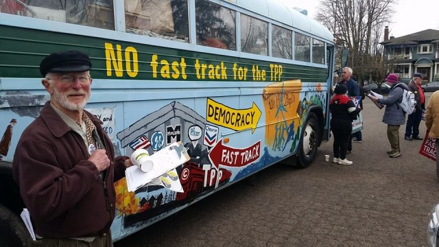 Anti-TPP Pressure Bearing Down on Oregon Politicians