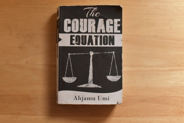 "Ahjamu Umi's ""The Courage Equation"" Probes Race, Violence"