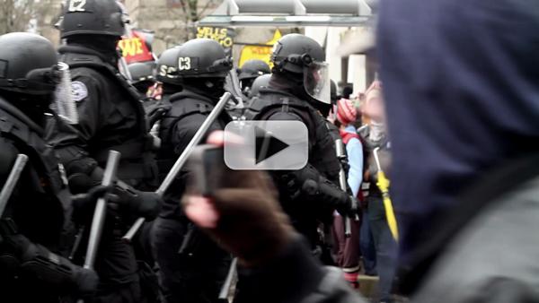 Video: Occupy Portland Shuts Down ALEC Corporations for #F29