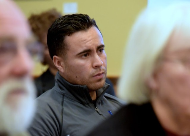Paulino Ruiz, who helped organize hunger strikes against the abusive conditions at the GEO Group's Northwest Detention Center in Tacoma, Washington. Photo by Doug Yarrow.